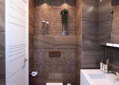 Geïnstalleerd toilet door FixEnjoy Bouwservice